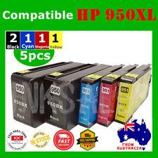 5x HP 950XL 951 950 Ink Cartridge for HP officejet pro 8100 8610 8620 8600 Plus
