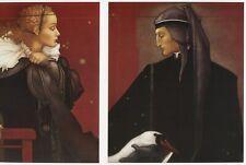 Michael Parkes DANTE and BEATRICE lovers soul mate fantasy surreal art print