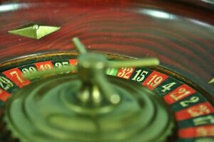 Antique Wooden Roulette Wheel c.1900