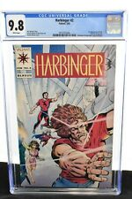 Harbinger #2 1992  CGC Graded 9.8  1st Appearance Rock, Swallow, Sparrow