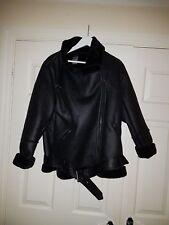 ladies coat size 18 black