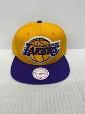 MITCHELL & NESS SNAPBACK #NM04Z NBA LOS ANGELES LAKERS BIG LOGO