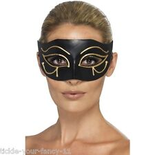 Women's Egyptian Eye Of Horus Mask Masquerade Fancy Dress Party Ball Hen Fun