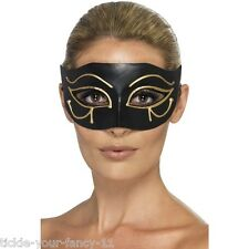 Women's egiziano Occhio di Horus Mask Masquerade Fancy Dress Party Ball GALLINA divertente