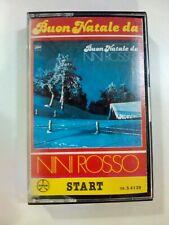 MC BUON NATALE DA NINI ROSSO MUSICASSETTA K7 START CA. S 4139