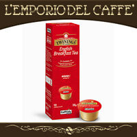 Caffitaly Tè Twinings English Breakfast Tea 100 Capsule Cialde - 100% Originale