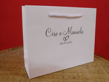 100 WEDDING BAGS 24 LUX PERSONALIZZATE +  OMAGGI