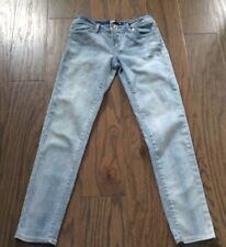 LEVI'S Stretchy Denim Leggings Adjustable Waist Girls Jeans Size 12
