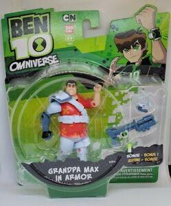 Ben 10 omniverse Granpa Max in armor