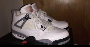 air jordan 4 white cement 2012