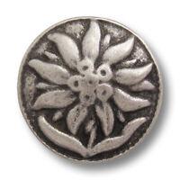 5 moderne kleine altsilberfb Knopflöchern w Pfeile 1411as-15 Metallknöpfe m