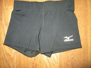 Womens MIZUNO VOLLEYBALL athletic spandex shorts XS  running gym