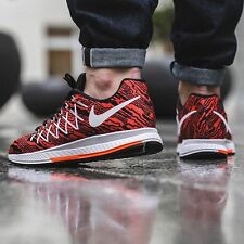 Nike Air Zoom Pegasus 32 Print Running Sneakers Casual-UK 7.5 (EUR 42) Crimson