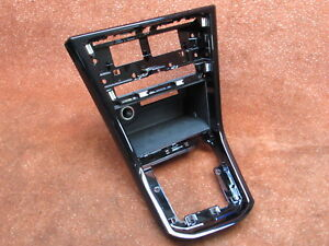 5TC864263A Cover center console black-gloss RHD only! VW Touran II 5T genuine