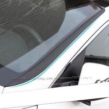 For Kia Optima K5 2016-2017 Carbon fiber front windshield sticker 2pcs/set