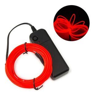 3 rolls 7.5ft Neon Light Decor Light LED lamp Flexible Wire Rope Tube
