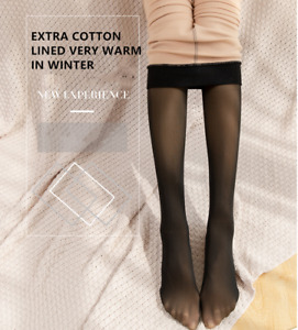 Women Magic Extra Thick Warm Winter Double Lined Stretch Thermal Fleece Tights