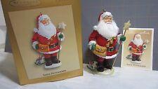 "2005 Hallmark QXC5005"" Santa Nutcracker"" Ornament"