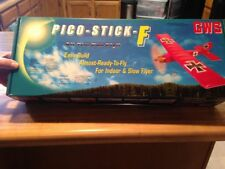 New R/C GWS Pico Stick F ARF  - Indoor - Outdoor - Slow Flyer With Motor