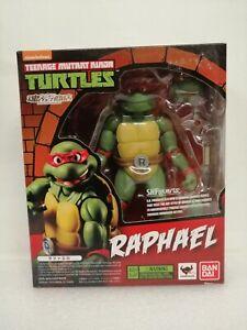 "Bandai SHFiguarts Teenage Mutant Ninja Turtles Raphael 6"" Tall Approx"