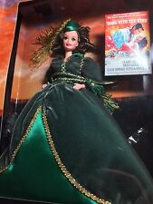Barbie Gone With the Wind Scarlett in Green Drapes Dress