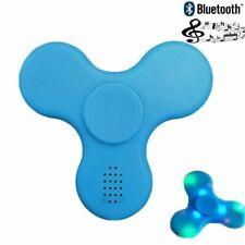 Haut-parleur Bluetooth DEL Fidget Spinner Main Doigt EDC Focus Gyro Cadeau Jouet