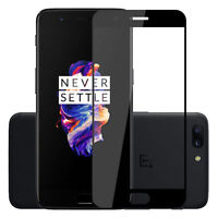 HOT! Premium Full Cover Glass Tempered Glass Film Screen Protector For OnePlus 5