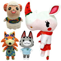 """NEW Animal Crossing 8"""" Dom Freya /12"""" Lolly Merengue Plush Toys Dolls Gifts"""