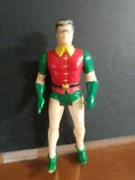 VINTAGE DC COMICS ROBIN SUPER POWERS ACTION FIGURE 1989 BATMAN KENNER no cape