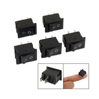 10PCS 2 Pin 12V Car Boat Round Dot Light ON/OFF Rocker Toggle Switch Tool Mini