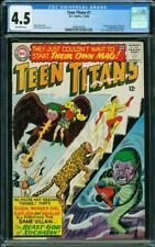 Teen Titans #1 CGC 4.5 DC 1966 Batman Flash Wonder Woman Cameo! L9 209 cm