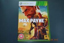 Max Payne 3 Xbox 360 UK PAL **FREE UK POSTAGE**