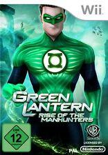 JUEGO WII NINTENDO Green Lantern: Subida De the Manhunters Nuevo y EMB. orig.