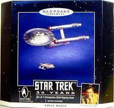 Hallmark Star Trek 30th Die Cast Ship Ornament Set 1966