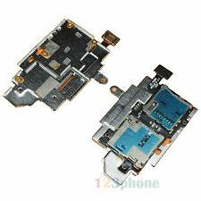 GENUINE MICRO SD + SIM READER SLOT FLEX CABLE FOR SAMSUNG GALAXY S3 i9300 #A134