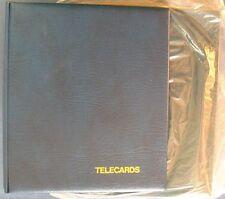 AA19) Lindner Télécartes Album avec emballage d'origine étui, sans Housses
