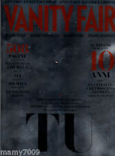 VANITY FAIR=NUMERO SPECIALE DECIMO ANNIVERSARIO=2003-2013=508 PAGINE=513 COVER