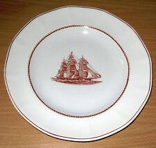 "Wedgwood Flying Cloud 8"" Plate Red Jacket 1 8 5 3 From Original Engraving"