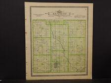 Iowa, Worth County Map, 1913 Kensett Township J3#16