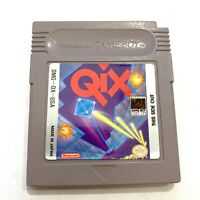 Qix Original Nintendo Game Boy Game - Tested - Working - Authentic!