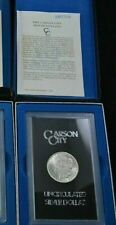 1884 CC Carson City GSA Morgan Silver Dollar Box/COA Uncirculated