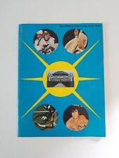 1967-1972 St Louis Blues Arena History Yearbook NHL Hockey Ephemera Book