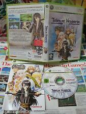 Xbox 360:Tales of Vesperia [TOP RPG NAMCO & 1ERE EDITION] COMPLET - Fr