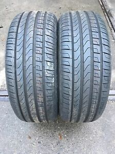 2 Neumáticos 225/50 R17 94W Pirelli Cinturato P7 Ecoimpact Rsc RFT DOT13 Nuevo