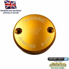 Oberon Performance Gold Ducati Front Brake Reservoir Cap RES-0004-GOLD
