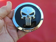 PUNISHER LARGE CAR BADGE Metal Emblem *NEW* 82mm or 3 1/4 inches across