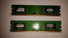 Kingston 512MB (2x256mb) pc2-4200 240 pin DIMM desktop Memory DDR2