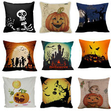 Home Decor Halloween Sofa Bed Car Home Decor Pillow Case Square Cushion Cover