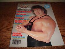Vintage WWF Magazine August 1987 Ken Patera Excellent Condition