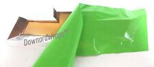 "Lime Green Vinyl Decal Sheets (2) U-Cut Chevy Bowtie Emblem covers 11"" x 4"" DIY"